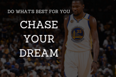 Dream Chasers Do What's Best For You
