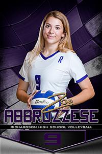 High school athlete Zoe Abbruzzese