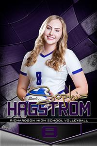 high school athlete Sophia Hagstrom